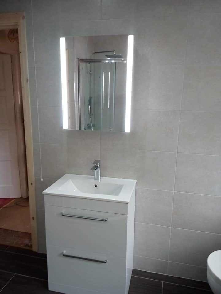 Separate Toilet Room Into One
